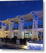 Caribbean Cruise - On Board Ship - 121237 Metal Print