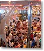 Caribbean Cruise - On Board Ship - 121272 Metal Print