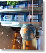 Caribbean Cruise - On Board Ship - 121295 Metal Print