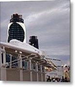 Caribbean Cruise - On Board Ship - 121299 Metal Print