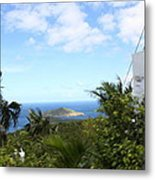 Caribbean Cruise - St Thomas - 1212181 Metal Print by DC Photographer