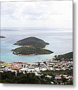 Caribbean Cruise - St Thomas - 12124 Metal Print by DC Photographer