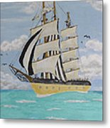 Caribbean Day  Metal Print