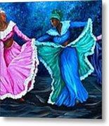 Caribbean Folk Dancers Metal Print