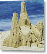 Caribbean Sand Castle  Metal Print