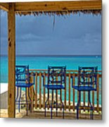Caribbean View-island Grill Grand Cayman Metal Print