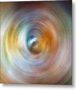 Carina Nebula Spin Art Metal Print
