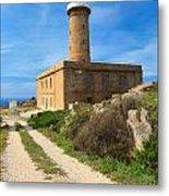 Carloforte Lighthouse Metal Print