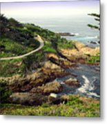 Carmel Highlands Metal Print