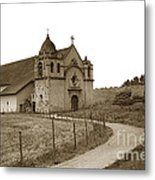 Carmel Mission Monterey Co. California Circa 1890 Metal Print