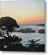 Carmel's Scenic Beauty Metal Print