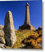 Carn Brea Memorial Metal Print
