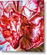 Carnation Watercolor Metal Print