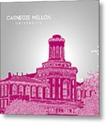 Carnegie Mellon University Hamerschlag Hall Metal Print