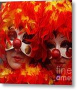 Carnevale Di Venezia 100 Metal Print