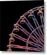 Carnival - Ferris Wheel Metal Print