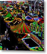 Carnival - Midway West Metal Print