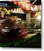 Carnival Ride 1  Metal Print