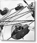 Carnival Ride, 1942 Metal Print
