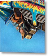 Carnival - Ride - The Thrill Of The Carnival  Metal Print