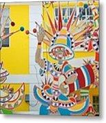 Carnival Time St. Thomas Usvi Metal Print