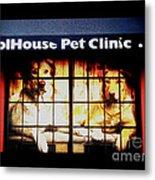 Carol House Quick Fix Pet Clinic Metal Print