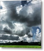 Carolina Clouds Metal Print