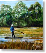 Carolina Cove Metal Print
