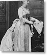 Caroline Lavinia Harrison (1832-1892) Metal Print