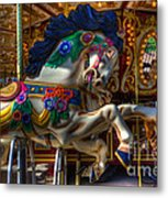 Carousel Beauty Ready To Roll Metal Print