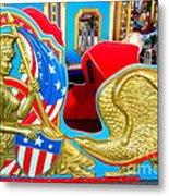 Carousel Chariot Metal Print