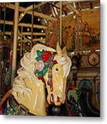 Balboa Park Carousel Metal Print