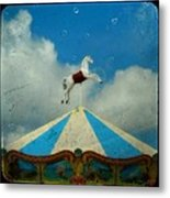 Carousel Day Metal Print