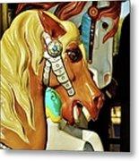 Carousel Horse 3 Metal Print