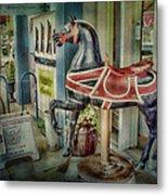 Carousel Hourse Metal Print