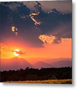 Carpathian Sunset Metal Print