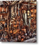Carpenter - That's A Lot Of Tools  Metal Print