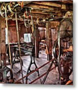 Carpenter - This Old Shop Metal Print