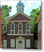 Carpenters Hall In Philadephia Metal Print