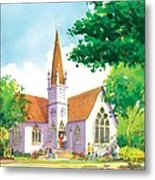 Carpinteria Valley Baptist Church Metal Print