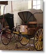 Carriage - Chateau Usse Metal Print