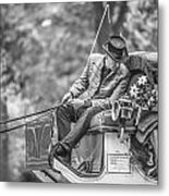 Carriage Ride Nyc  Metal Print