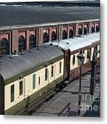 Carriages Metal Print