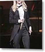 Singer Carrie Underwood Metal Print