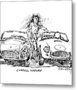 Carroll Shelby And The Cobras Metal Print