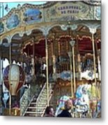 Carrousel De Paris Metal Print
