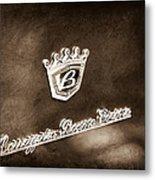 Carrozzeria Boano Emblem Metal Print