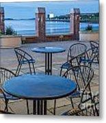 Carson Beach Cafe Metal Print