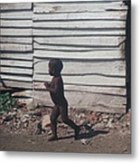 Cartagena Child Metal Print
