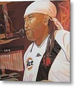 Carter Beauford At Red Rocks Metal Print